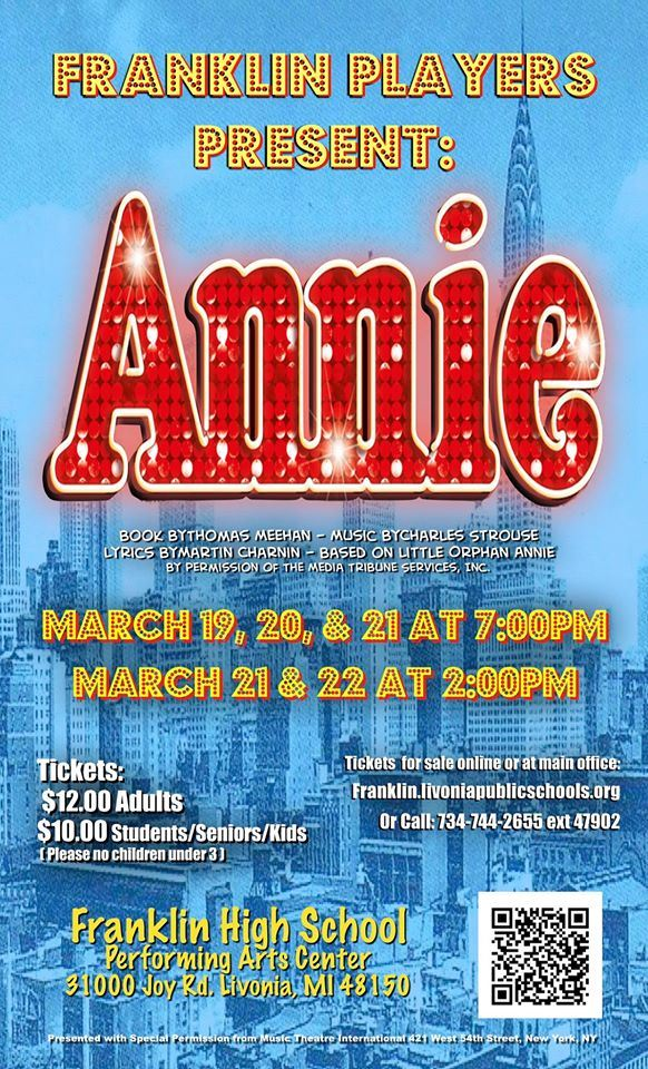 Franklin Players Present: Annie