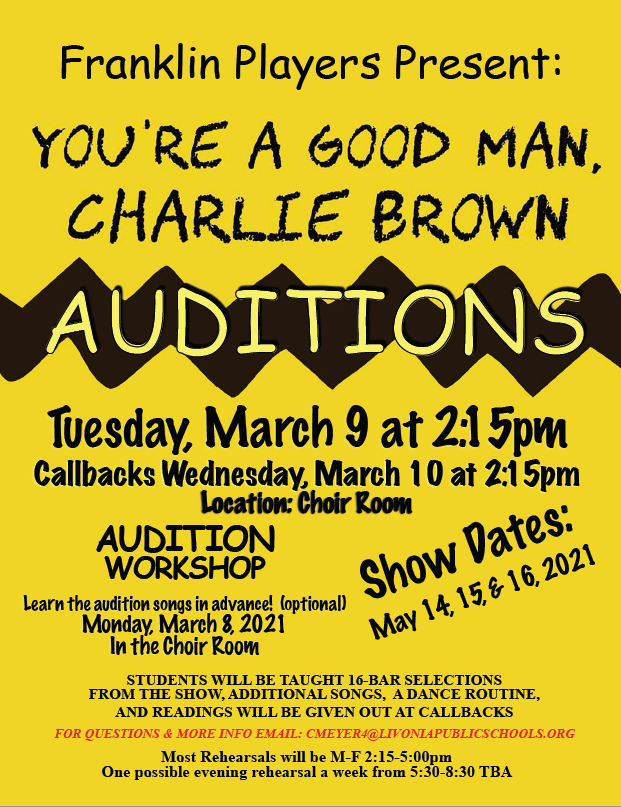 Franklin Players Auditions