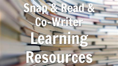 SNAP AND COWRITER