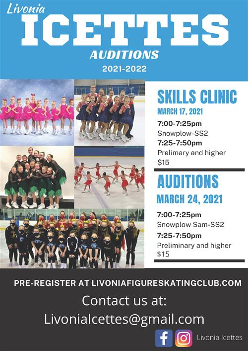 Icettes flyer