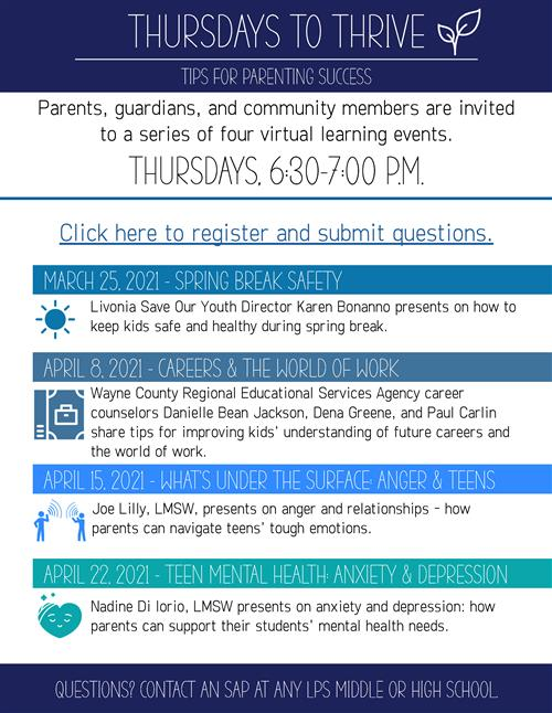 parent series flyer
